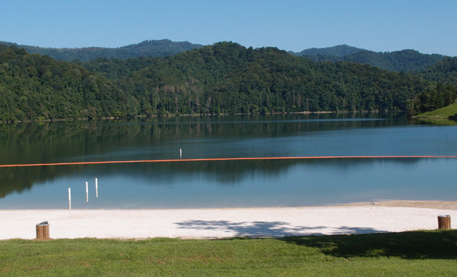Two lakes in Harlan County KY | Uncle Bob's Travels
